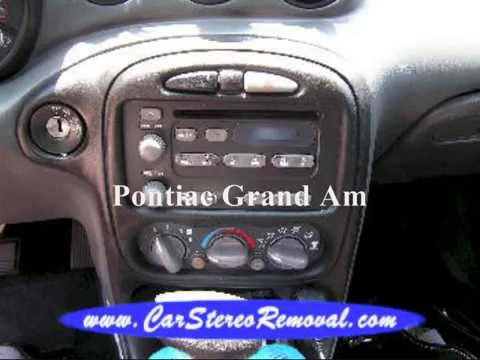 hqdefault pontiac grand am stereo removal youtube 2003 Grand AM SE at gsmx.co