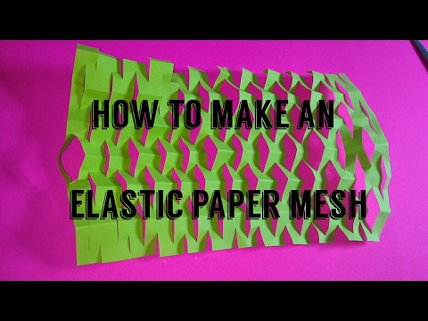 Paper Hack,  mesh, screen or fence.