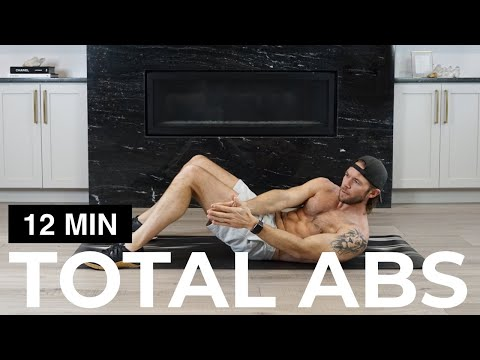 12 MIN TOTAL ABS | TOTAL AB WORKOUT
