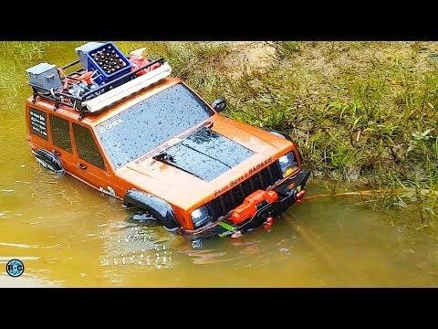 RC 4x4 MUD & WATER ADVENTURE TOUR 🔵 Barbeque Crawler & Scaler Osnabrück