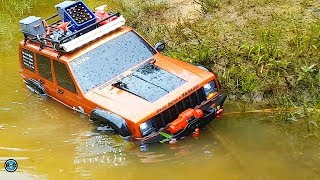 RC 4x4 MUD & WATER ADVENTURE TOUR 🔵 Barbeque Crawler & Scaler Osnabrück
