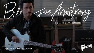 Billie Joe Armstrong on his new Signature Model Les Paul Junior