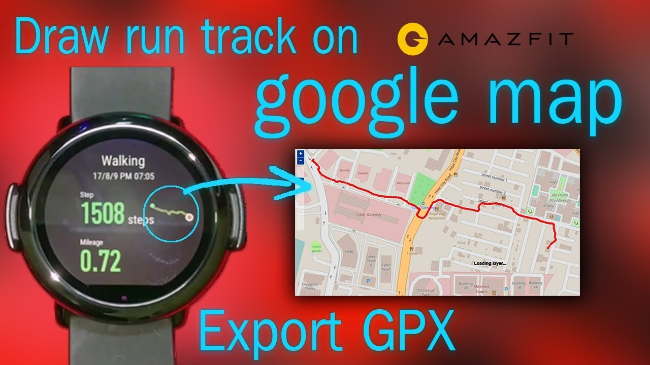 Amazfit How To Export Gpx Data From Amazfit And View On