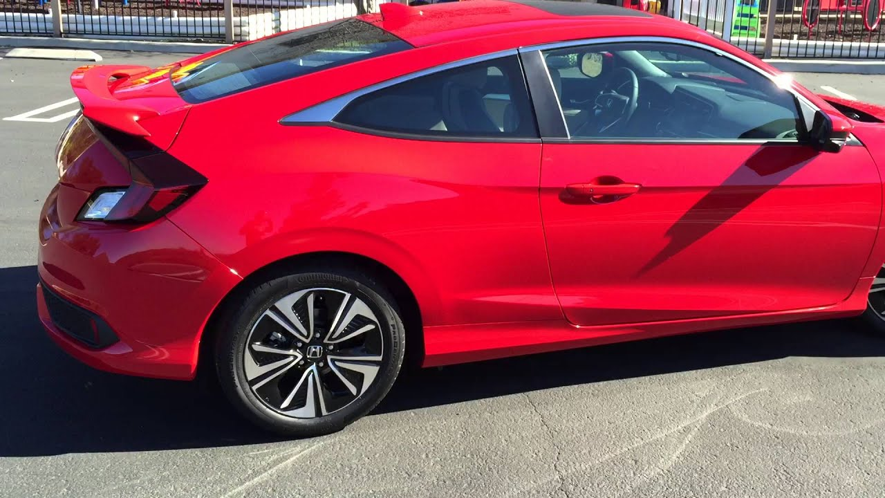 2016 Honda Civic Coupe Walkaround