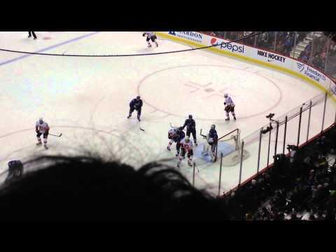 Canucks v Calgary - Last Minute of Play - 2 , 1 Win Canucks - 8th March 2014