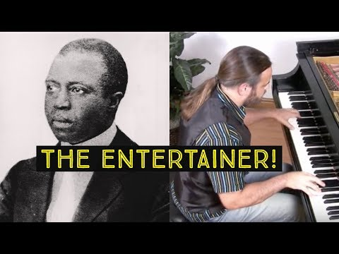 The Entertainer by Scott Joplin | Cory Hall, pianist-composer