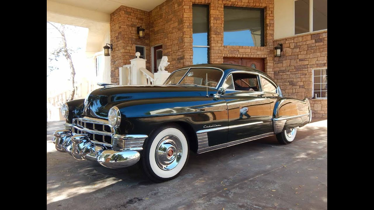1949 Cadillac Series 6207 2dr Fastback 5p Club Coupe Youtube V8 Engine