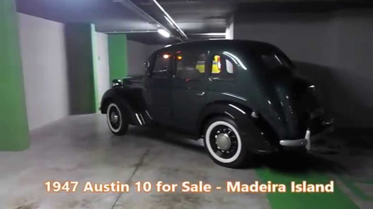 Austin 10 1947 For Sale - YouTube