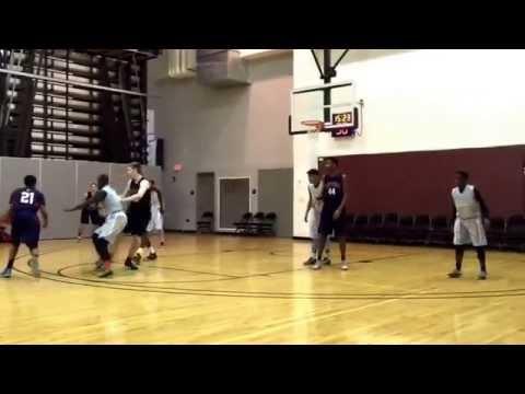 2018 PG Tai Giger Carolina Raptors/Carolina Day School. The step back 3 ball.