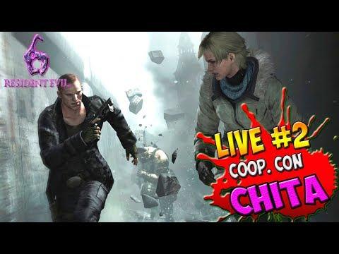 RESIDENT EVIL 6 - COOP. CHITA31GAMER - MULLER & CHERYL - LIVE #2