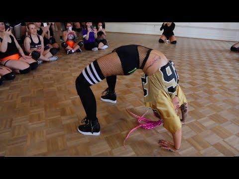 "Brand new TWERK choreo by Tinze / ""Beep"" / Helsinki, Finland"