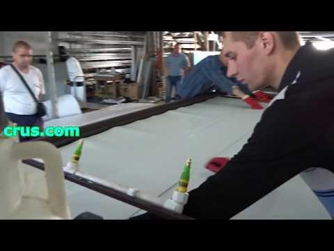 Оборудование для производства ПВХ сэндвич панелей.