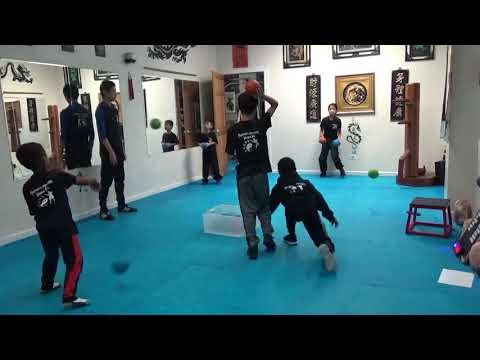 Dodgeball Competition - Kung Fu Fitness Challenge