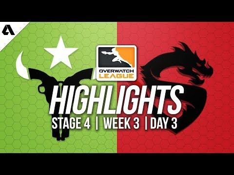 Houston Outlaws vs Shanghai Dragons | Overwatch League Highlights OWL Stage 4 Week 3 Day 3