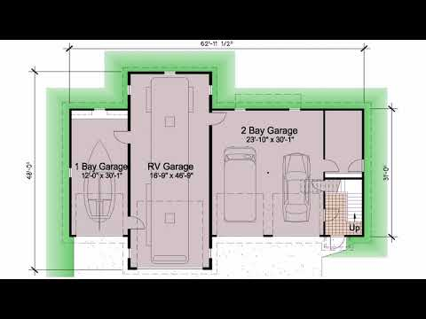 Small Home Plans With Rv Garage