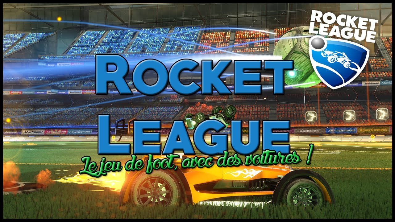 rocket league le jeu de foot avec des voitures youtube. Black Bedroom Furniture Sets. Home Design Ideas