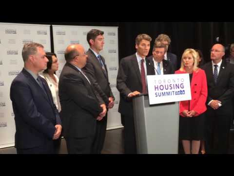 Gregor Robertson on housing