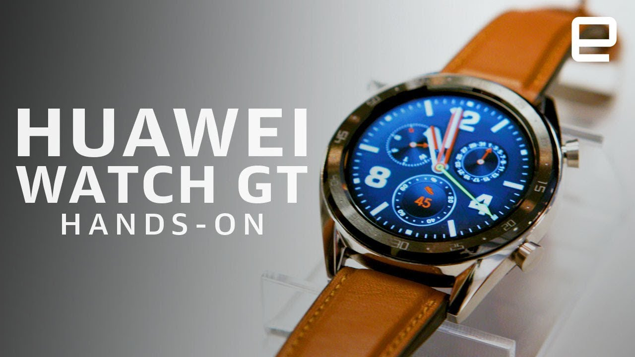 3636d6709 Huawei Watch GT Hands-On - YouTube