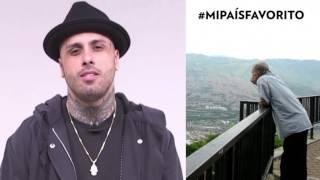Nicky Jam explica por qué Colombia es su país favorito