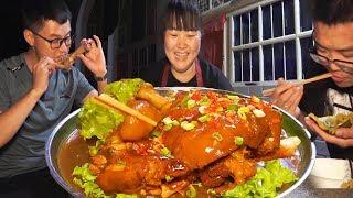 家常猪肘子最好吃的做法,肥而不腻,弟弟说不够吃,明天还做!【陕北霞姐】