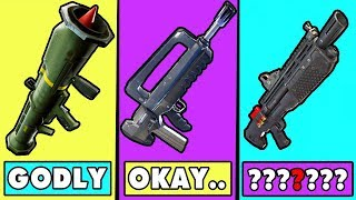 5 Weapons That Are USELESS in Fortnite ~ Fortnite Battle Royale Top 5