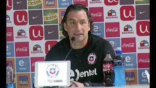 Juan Antonio Pizzi prepara el trascendental choque ante Ecuador
