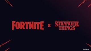 STRANGER THINGS-FORTNITE SKINS LEAKED