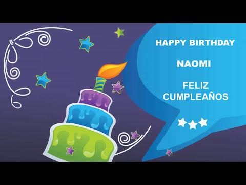 Naomi - Card Tarjeta_634 - Happy Birthday