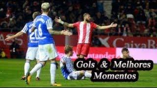 Real Sociedad x Girona - Gols & Melhores Momentos - Campeonato Espanhol #09