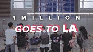 Video 1MILLION / Goes to LA download MP3, 3GP, MP4, WEBM, AVI, FLV Desember 2017