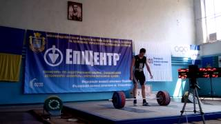 Пирогов Кирилл - толчок 167 кг./Kirill Pirogov - Zaporozhye / Ukraine
