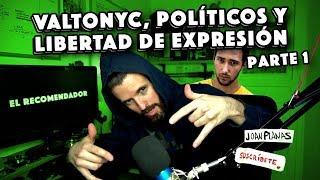 Valtonyc, políticos y libertad de expresión