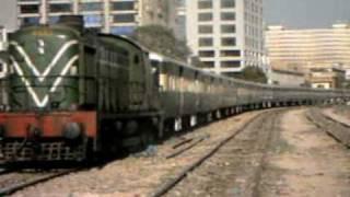 Karachi Circular Railways, a local commuter train connecting Karachi suburbs with City center.