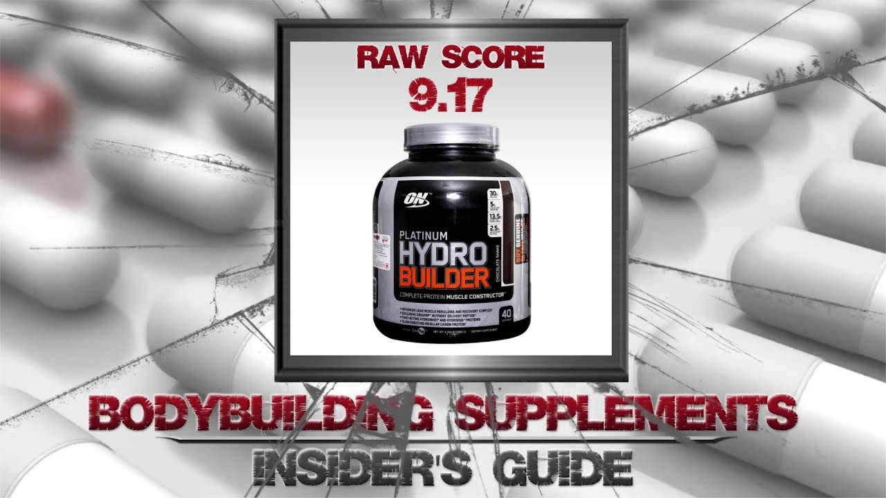 Optimum Nutrition Hydro Builder Review