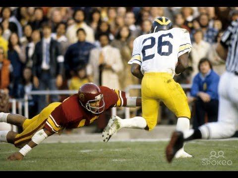 1979 Rose Bowl #3 USC vs #5 Michigan