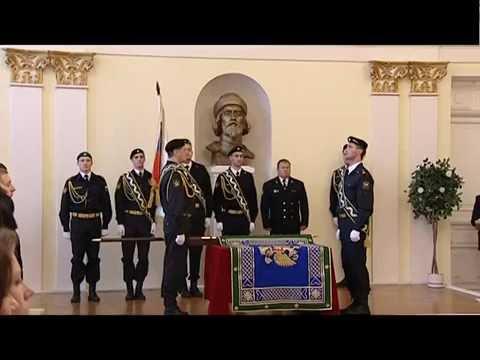 Церемония вручения знамени Управлению ФССП России по Ярославской области
