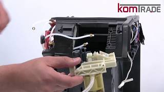 ECAM Brühkolben ausbauen-ersetzen-tauschen-einbauen Delonghi Ersatzteile Reparaturanleitung