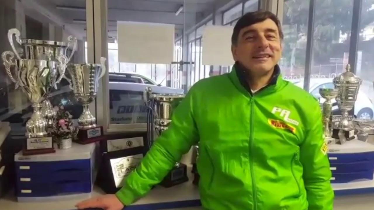 Silvano Patera al via al Rally di Monte Carlo 2019