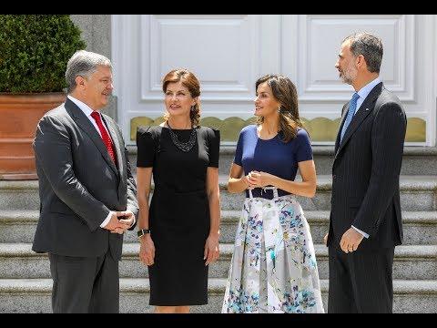 Радий зустрічі з Королем Іспанії Феліпе VI та Королевою Летісією