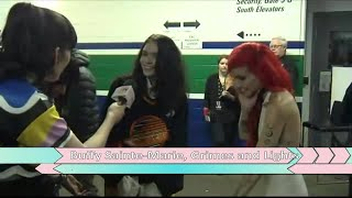 Buffy Sainte-Marie, Grimes & Lights Backstage at The 2018 JUNO Awards