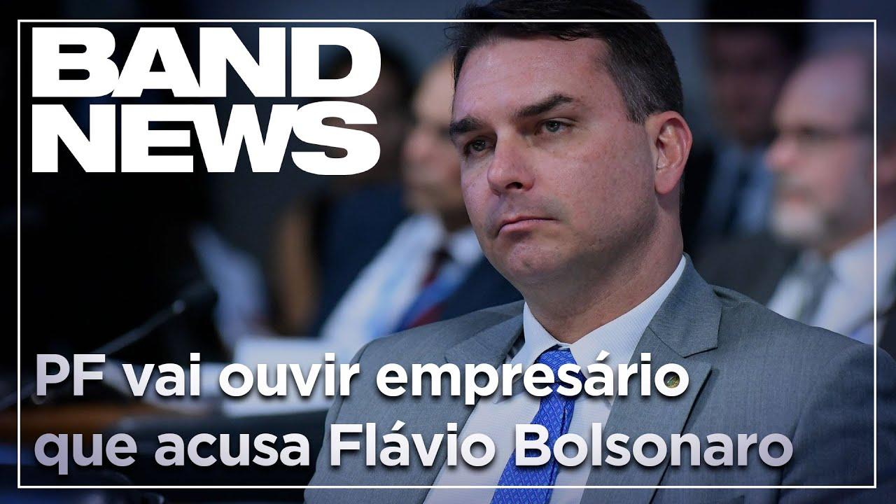 Notícias - PF vai ouvir empresário que acusa Flávio Bolsonaro - online
