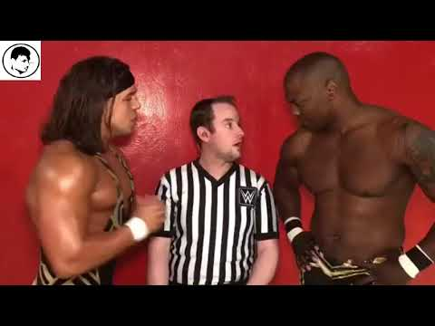 WWE Live Event Lubbock Texas 17th Feb 2018 Chad Gable And Shelton Benjamin Live From Backstage