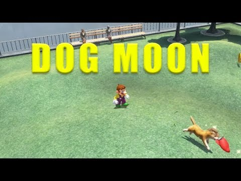 Metro Kingdom Dog Moon Super Mario Odyssey