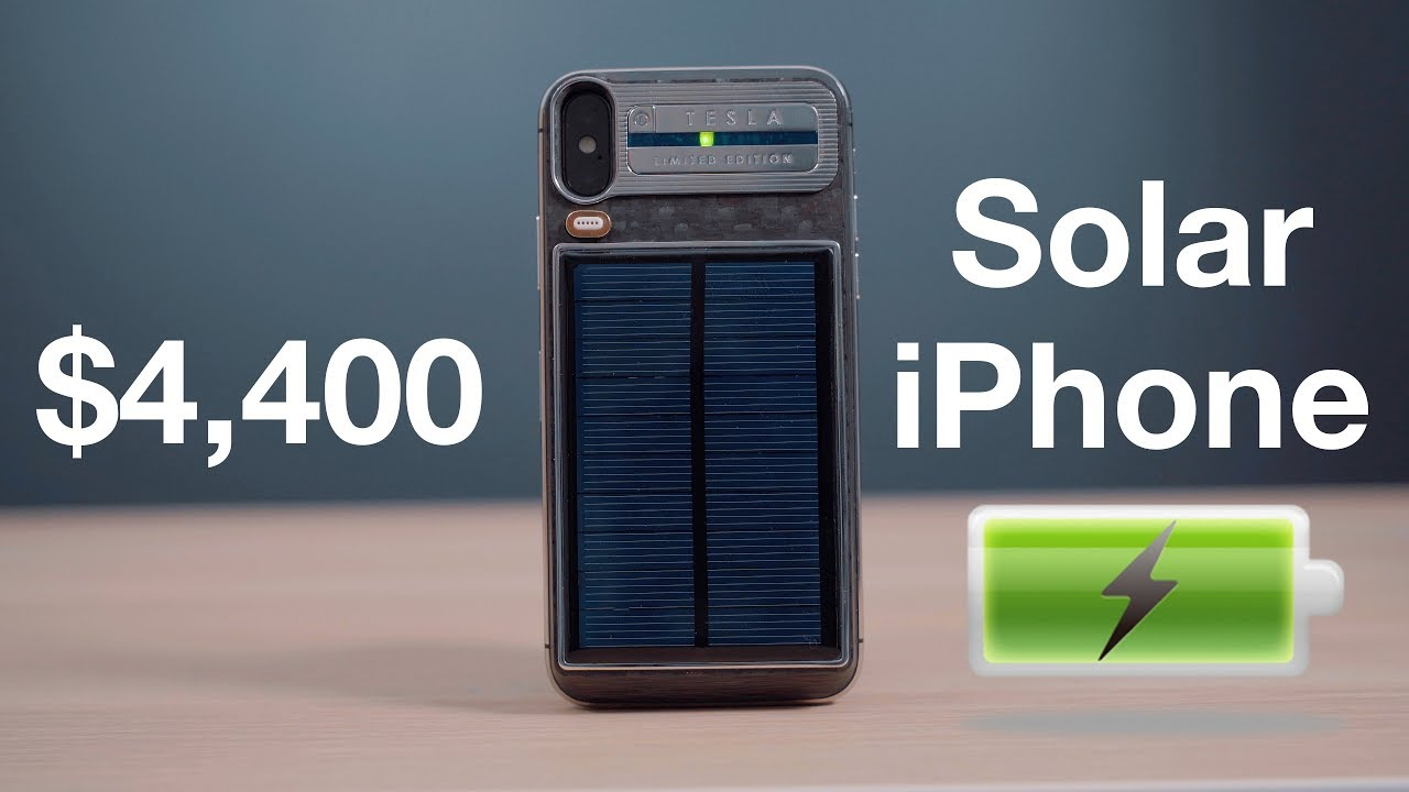online store 9ee5a b67e7 Hands-On With Caviar's $4,400 'Tesla' Solar-Charging iPhone X ...