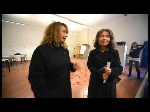 Jang Hey Sug visita all'Accademia di Belle Arti di Perugia, 장 혜숙 모교 방문