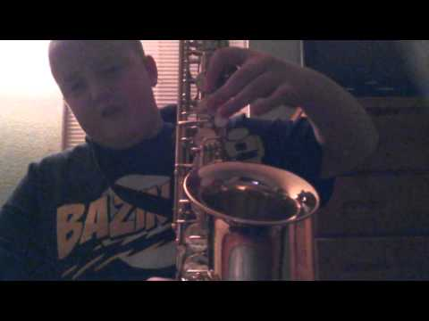 How to play the Epic Sax Guy on Alto Saxophone