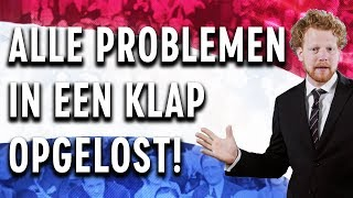 In NO TIME een BETERE WERELD! - COMEDIANS SOLVE WORLD PROBLEMS | vanaf 18 juni op YouTube!