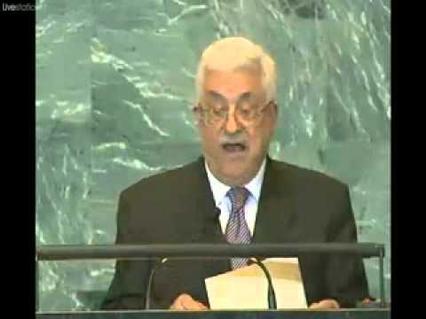 Mohammed Abbas addresses to UN