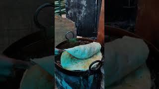Gaint halwa paratha from Nizamuddin Dargah, Delhi