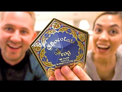 Thumbnail: Chocolate Frog? | Trying Harry Potter Candies